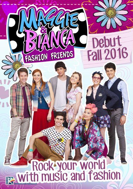 Название  Мэгги и Бьянка в Академии моды. Оригинальное название  Maggie    Bianca Fashion Friends Год выхода  2017. Жанр  Семейный Выпущено  Италия a2b7a059112f1